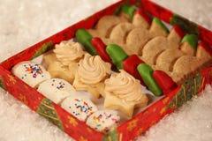 Christmas cakes Stock Image
