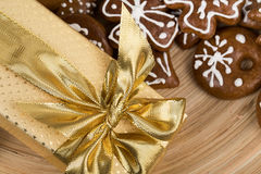 Christmas cakes close up Royalty Free Stock Photos
