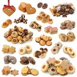 Christmas Cakes Collection Stock Photo