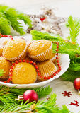 Christmas cakes Royalty Free Stock Photos