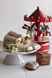 Christmas cakes and gingerbread Royalty Free Stock Image
