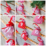 Christmas calendar Royalty Free Stock Photography