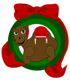Christmas Camel Stock Images