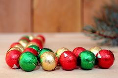 Christmas Candies Stock Photo
