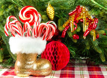 Christmas candies Royalty Free Stock Images