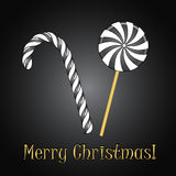 Christmas candies Royalty Free Stock Photos