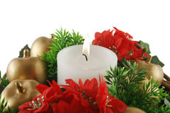 Christmas Candle 1 Royalty Free Stock Photos