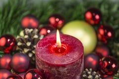 Christmas_candle Imagem de Stock Royalty Free