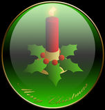 Christmas, Candle, Background, Holidays royalty free illustration