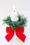 Christmas Candle Holder Royalty Free Stock Photo