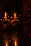 Christmas by Candle Light Royalty Free Stock Photo