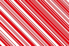 Christmas candle, lollipop pattern. Striped diagonal background with slanted lines. Stripy backdrop Vector illustration. Christmas candle, lollipop pattern Stock Photos