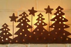 Christmas candle shelter. Stock Image