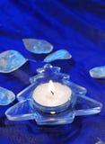 Christmas candleholder Stock Image