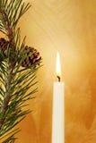 Christmas candlelight Stock Image
