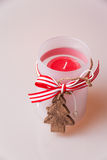 Christmas in candlelight Royalty Free Stock Photo