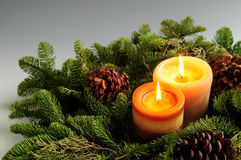 Free Christmas Candles Stock Photos - 3912173