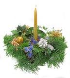 Christmas candlestick Stock Photo