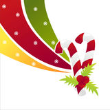Christmas candy background Royalty Free Stock Images