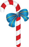 Christmas candy with blue ribbon. Simple christmas candy with a blue ribbon Vector Illustration