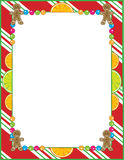 Christmas Candy Border Royalty Free Stock Photography