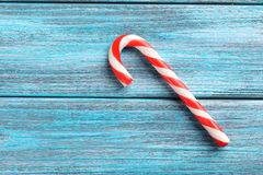 Christmas candy can Royalty Free Stock Images