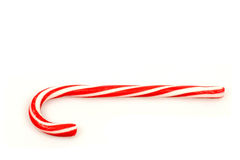 Christmas candy cane. On a white background Stock Photo