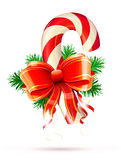 Christmas candy cane Royalty Free Stock Photography
