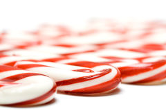 Christmas candy cane Royalty Free Stock Images
