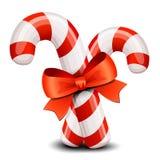 Christmas candy cane Stock Photos