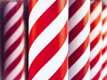 Christmas Candy cane Holiday pattern background Royalty Free Stock Photo