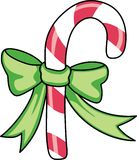 CHRISTMAS CANDY CANE Royalty Free Stock Image