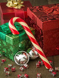 Christmas Candy Cane Still life Royalty Free Stock Image