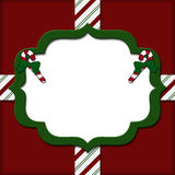 Christmas Candy Cane Striped background Royalty Free Stock Images