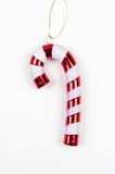 Christmas candy cane  toy Royalty Free Stock Photos