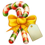 Christmas Candy Cane Royalty Free Stock Photo