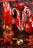Christmas candy canes Royalty Free Stock Photos