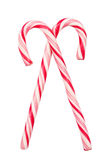 Christmas candy canes Stock Photography