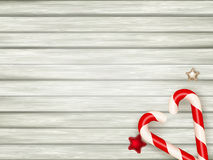 Christmas candy canes. EPS 10 Stock Images