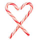 Christmas candy canes Royalty Free Stock Photography