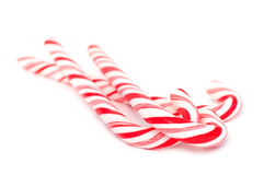 Christmas candy canes Stock Photo