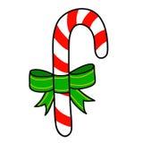 Christmas candy  cartoon. Royalty Free Stock Photo