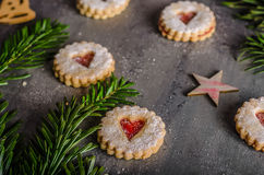 Christmas candy, cookies Stock Images
