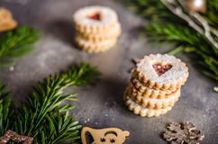 Christmas candy, cookies Royalty Free Stock Images
