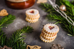 Christmas candy, cookies Stock Image