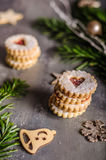 Christmas candy, cookies Stock Photography