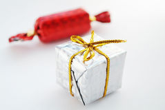 Christmas candy and gift Stock Photography