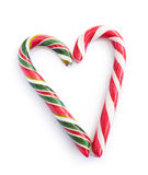Christmas candy heart Royalty Free Stock Photo