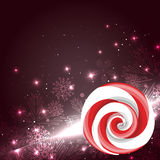 Christmas candy lollipop Royalty Free Stock Image