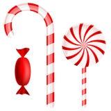 Christmas Candy Set Royalty Free Stock Photos